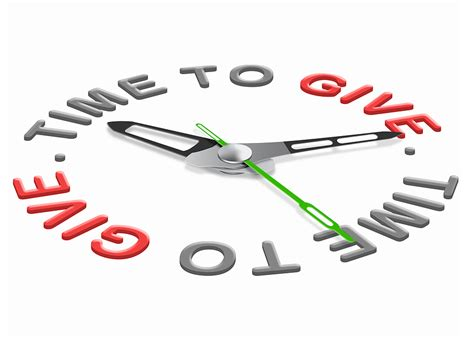 To Give charity navigator time to give