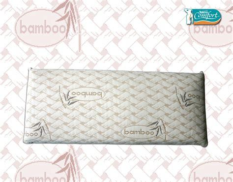 almohadas bamboo almohada viscoelastica bamboo tekno comfort bekaexpres