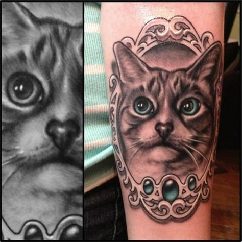 tattoo cat portrait 17 best images about tattoos on pinterest ink cat