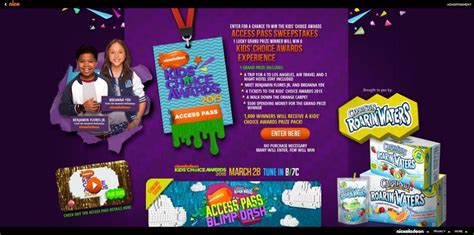 Kids Choice Awards Sweepstakes - everything you need to know about the kids choice awards sweepstakes
