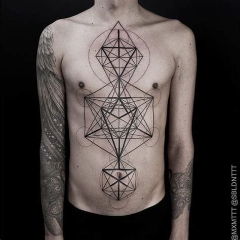 ideas for impressive geometric tattoos inked cartel
