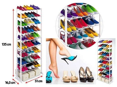 Murah Amazing Shoe Rack As Seen On Tv Rak Sepatu Wanita Pria High amazing shoe rack pratik kurulumlu 10 katl箟 ayakkab箟l箟k