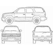 Car Chevrolet Tahoe 2006  The Photo Thumbnail Image Of Figure Drawing