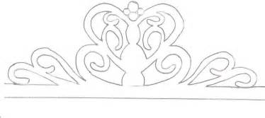 tiara template another gumpaste tiara template cakes cake