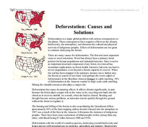 Deforestation Essay by Deforestation Essay Calam O Essay On Deforestation Great Tips For Students To Write Ayucar