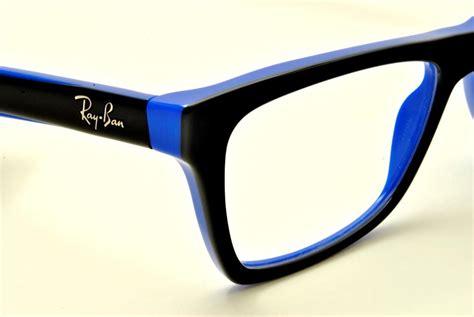 Frame O Kree Black Blue ban eyeglasses rx5268 black 5119 black on blue 5179