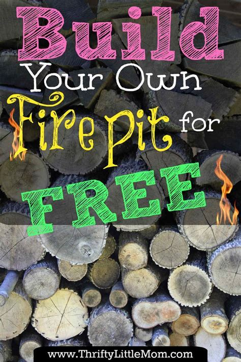 Build Your Own Outdoor by Build Your Own Backyard Pit Using Free Materials
