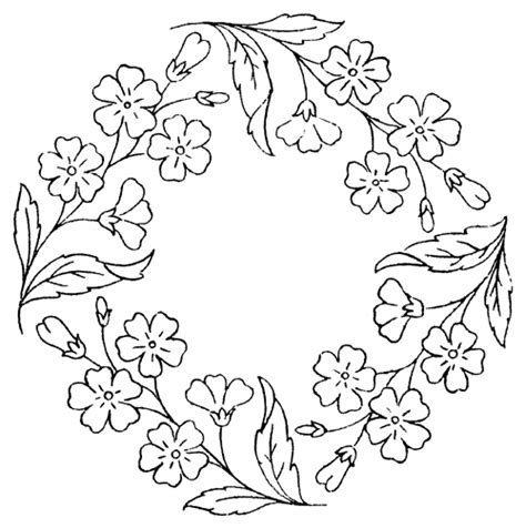 flower wreath coloring page difficult coloring pages for adults advanced coloring