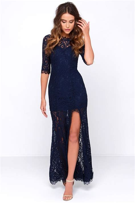 Marien Maxi Blue 25 best ideas about navy blue dresses on blue