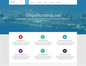 Free Templates For Bootstrap by 20 Best Free Responsive Bootstrap Html5 Templates