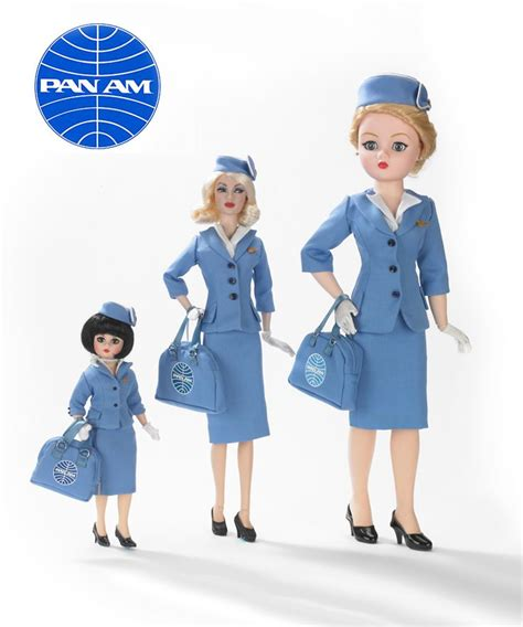 Flight Attendant Fashion by Madame Exclusive Pan Am Cissy Flight