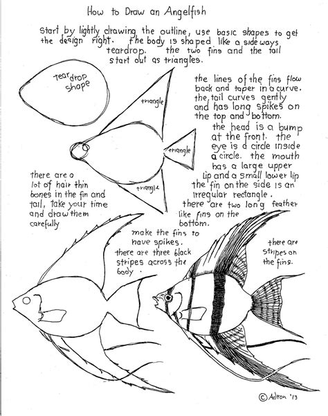 How To Draw Worksheets For The Young Artist August 2013 Drawing Activity Sheets