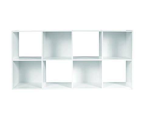 Closetmaid 8 Cube Organizer White closetmaid cubeicals 8 cube organizer white