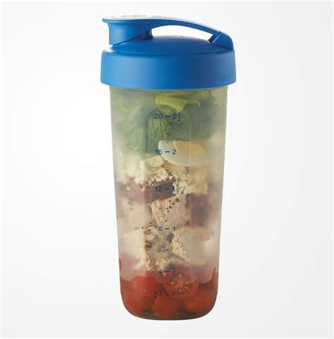 Tupperware Cherry Steam It chicken cobb salad fresh tupperware