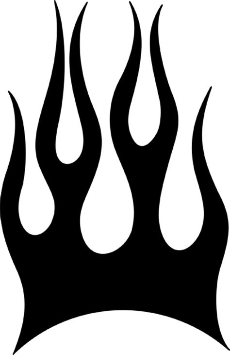 flames template free templates coloring pages