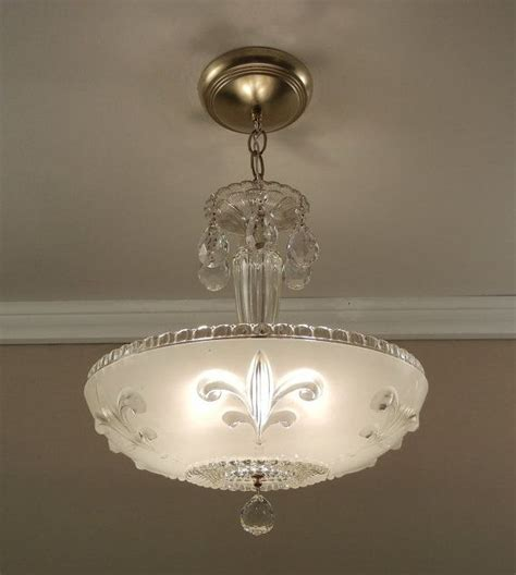 fleur de lis lighting reserved for antique chandelier 1930 s vintage