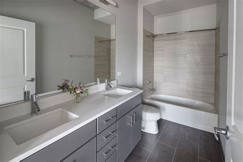 great ideas for gray bathroom homes