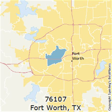zip code map fort worth texas best places to live in fort worth zip 76107 texas