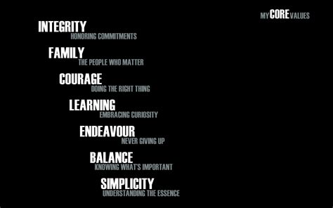 the definitive guide to your values