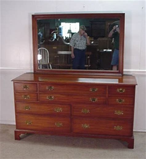 henkel harris bedroom furniture delong s furniture henkel harris cherry dresser with mirror