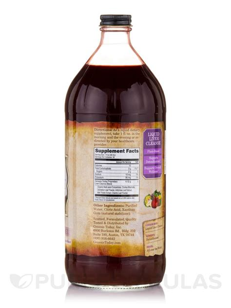 Liquid Detox by Liquid Liver Cleanse 32 Fl Oz 946 Ml