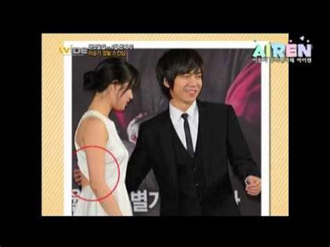 lee seung gi yoona kiss lee seung gi 이승기 와이드 연예뉴스 이승기 깜놀 스킨십 2013 04 05 youtube