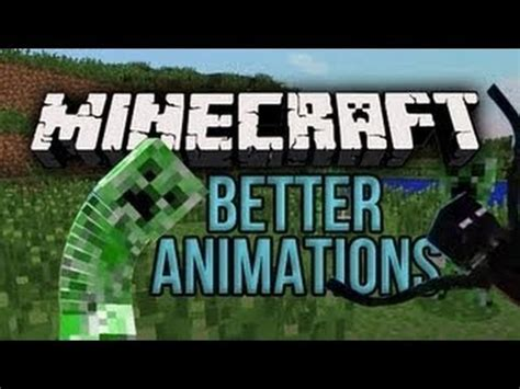 minecraft better animations mod minecraft mods better animations collection review ita