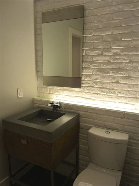 modern powder room design church loft modern powder room other metro by