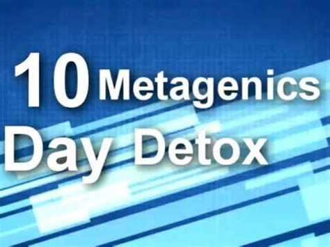 Metagenics 10 Day Detox Program by Pin By Innovative Nutrition On Metagenics