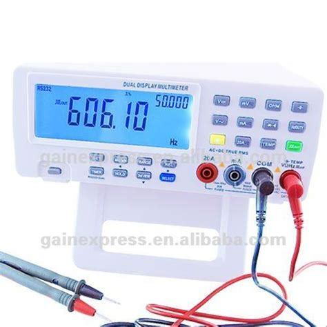multimetro da banco vichy vc8145 multimetro digitale da banco multimetro