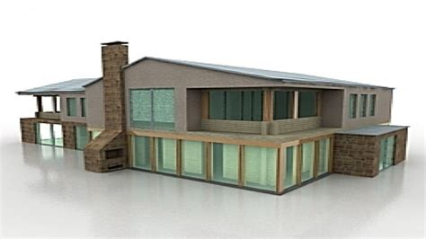 house building 3d model scale model buildings modern house models mexzhouse