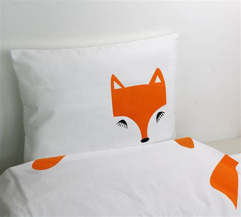 fox bedding fox bedding by holubolu notonthehighstreet com
