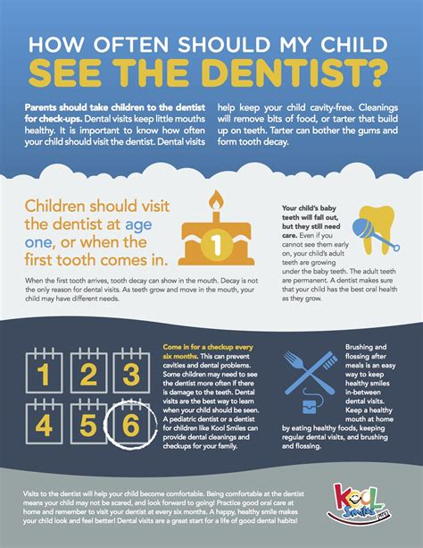 how many times should you go to the bathroom how often should i take my child to the dentist