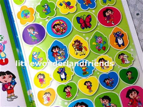 Dora The Explorer Wall Stickers littlewonderlandfriends dora the explorer coloring amp 49