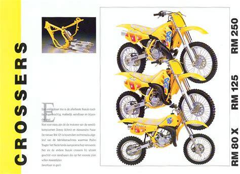Suzuki Rm 250 Frame Numbers Suzuki Rm250 Brochures