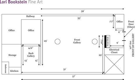 small art gallery floor plan lori bookstein fine art hiroyuki hamada