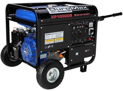 duromax xp10000e gas powered portable generator review 04