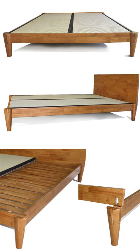 Asian Bed Frame Platform Beds Low Platform Beds Japanese Solid Wood Bed Frame