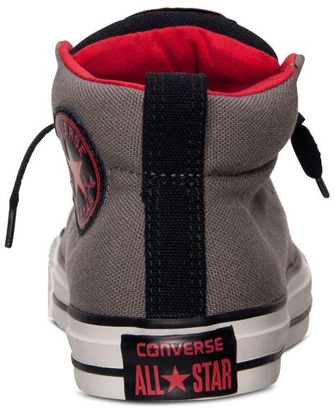 Converse Casual Grey converse s chuck mid casual sneakers