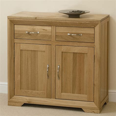 Oak Furniture Land Sideboard bevel solid oak small sideboard oak furniture land