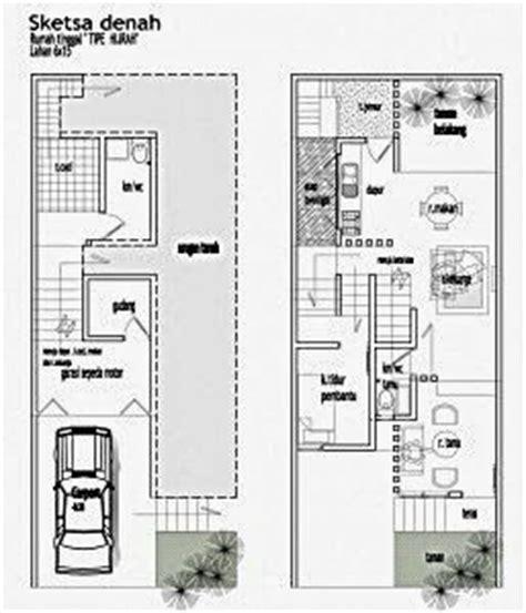 desain rumah lebar 5 meter denah rumah minimalis lantai dua denah rumah minimalis