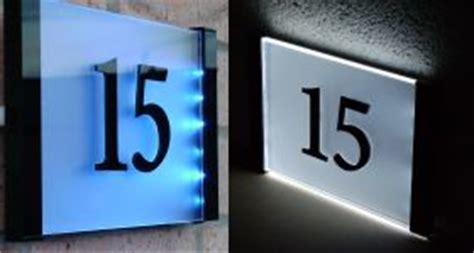 design house numbers uk house signs style without compromise