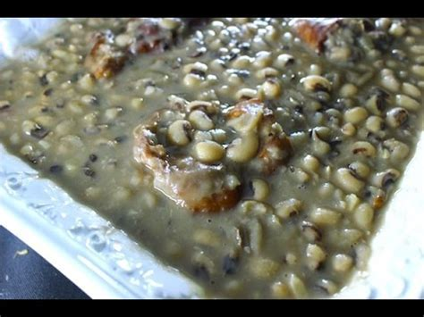 Cooking Soul Food Style Black Eyed Peas   Best you'll ever