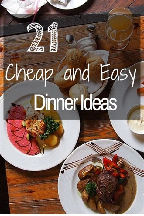 21 cheap and easy dinner ideas for the family dinner