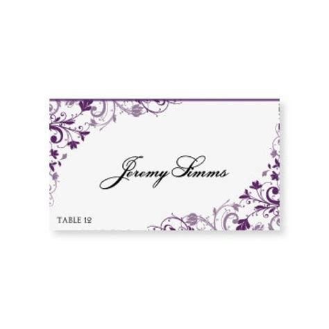 Place Cards Template Word Free by Instant Wedding Place Card Template Chic
