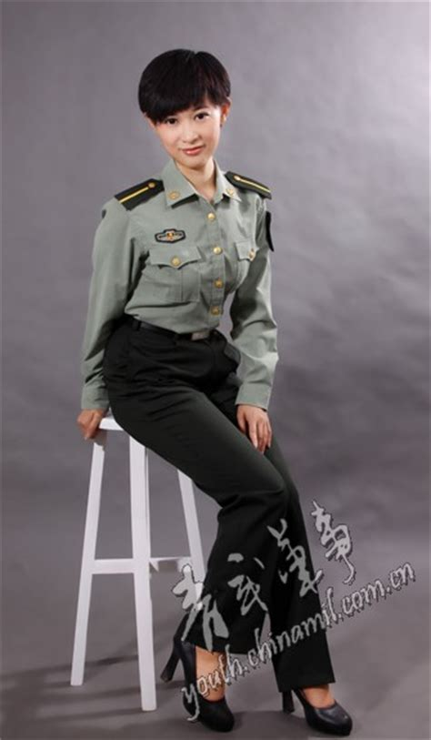 chinese military uniform girl the uniform girls pic china military uniform girls 013