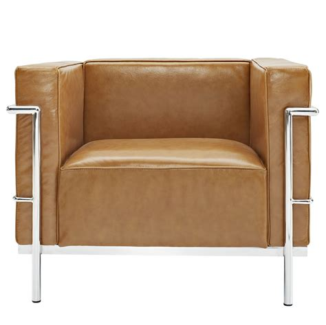 Le Corbusier Style LC3 Arm Chair Leather