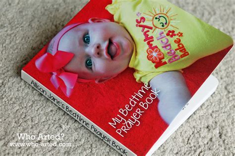 custom picture books personalized board book baptism gift who arted