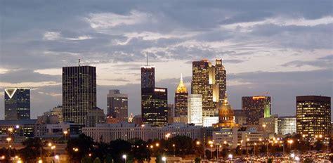 Atlanta Mba Recruiters by Atlanta Skyline From Turner Stadium Atlanta Skyline From
