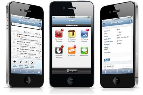 help desk mobile web app manageengine servicedesk plus